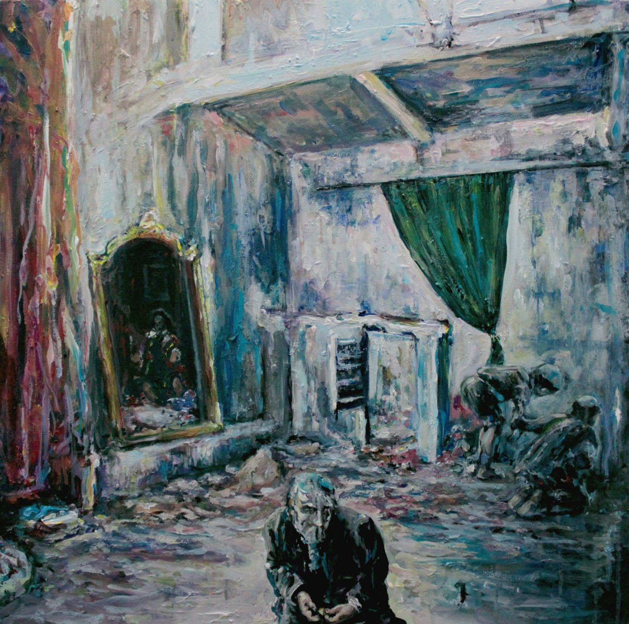 Close to mirror - Cerezo Montilla -