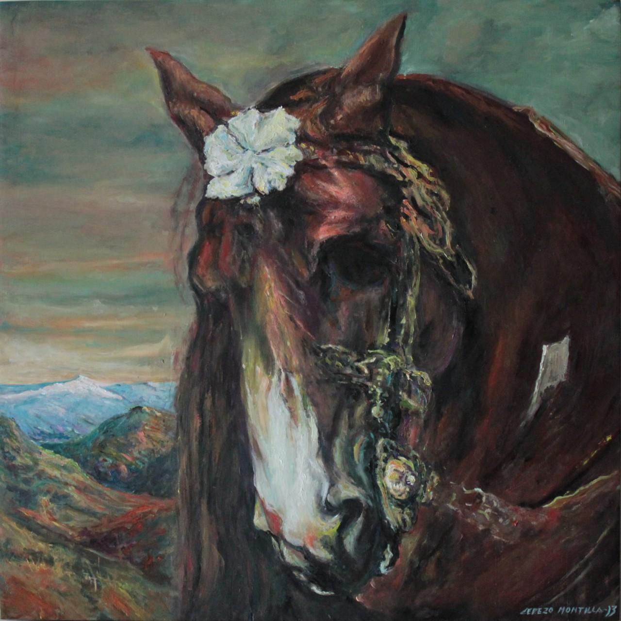 Nazari Horse - Cerezo Montilla - compar cuadros modernos, comprar cuadros, cuadros modernos