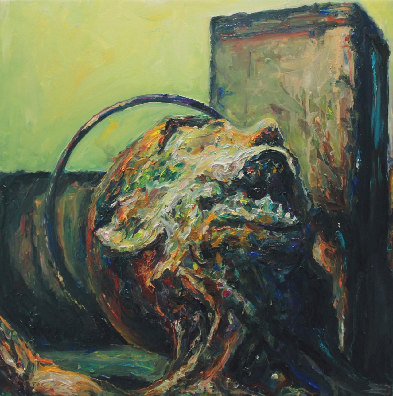 Illuminati III - Cerezo Montilla - compar cuadros modernos, comprar cuadros, cuadros modernos