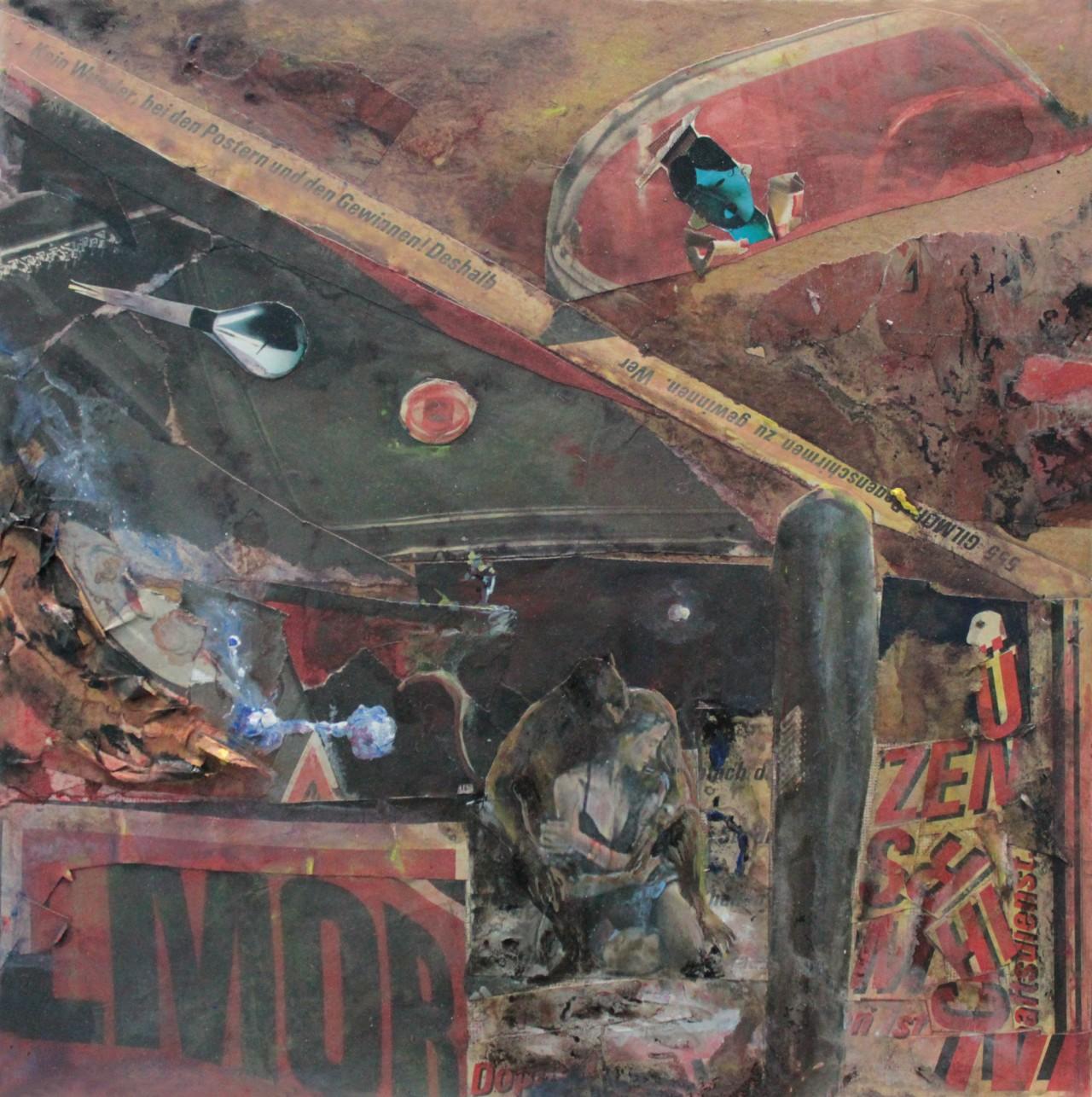 Entartete Zimmer 9 - Cerezo Montilla - compar cuadros modernos, comprar cuadros, cuadros modernos