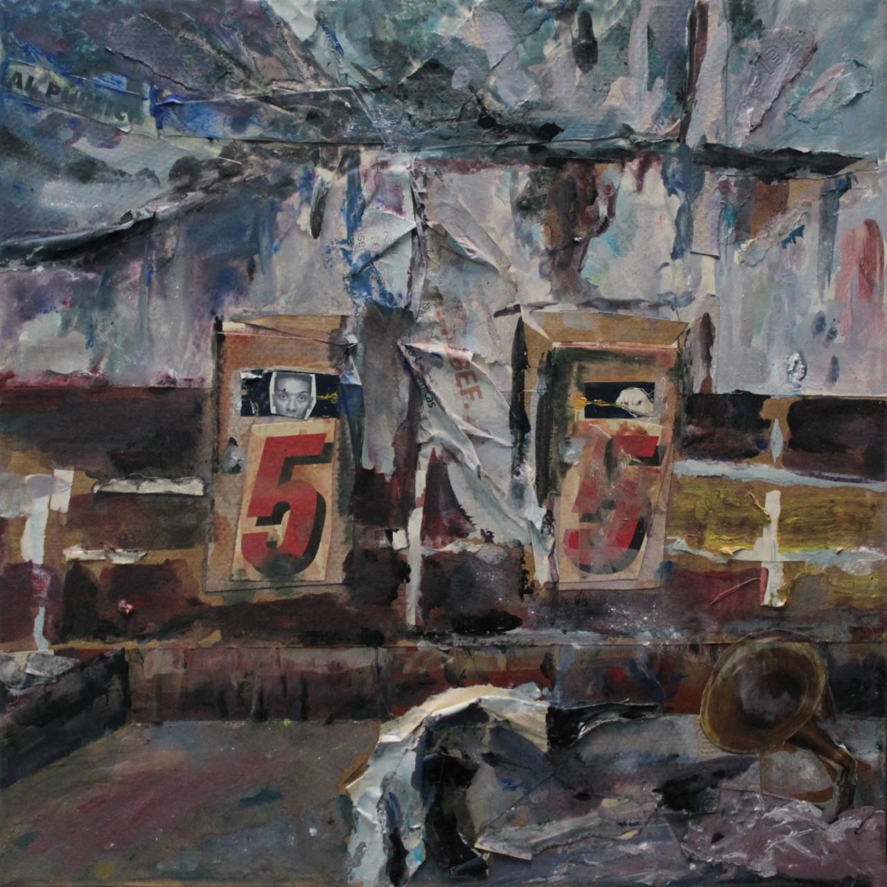Entartete Zimmer 8 - Cerezo Montilla - compar cuadros modernos, comprar cuadros, cuadros modernos