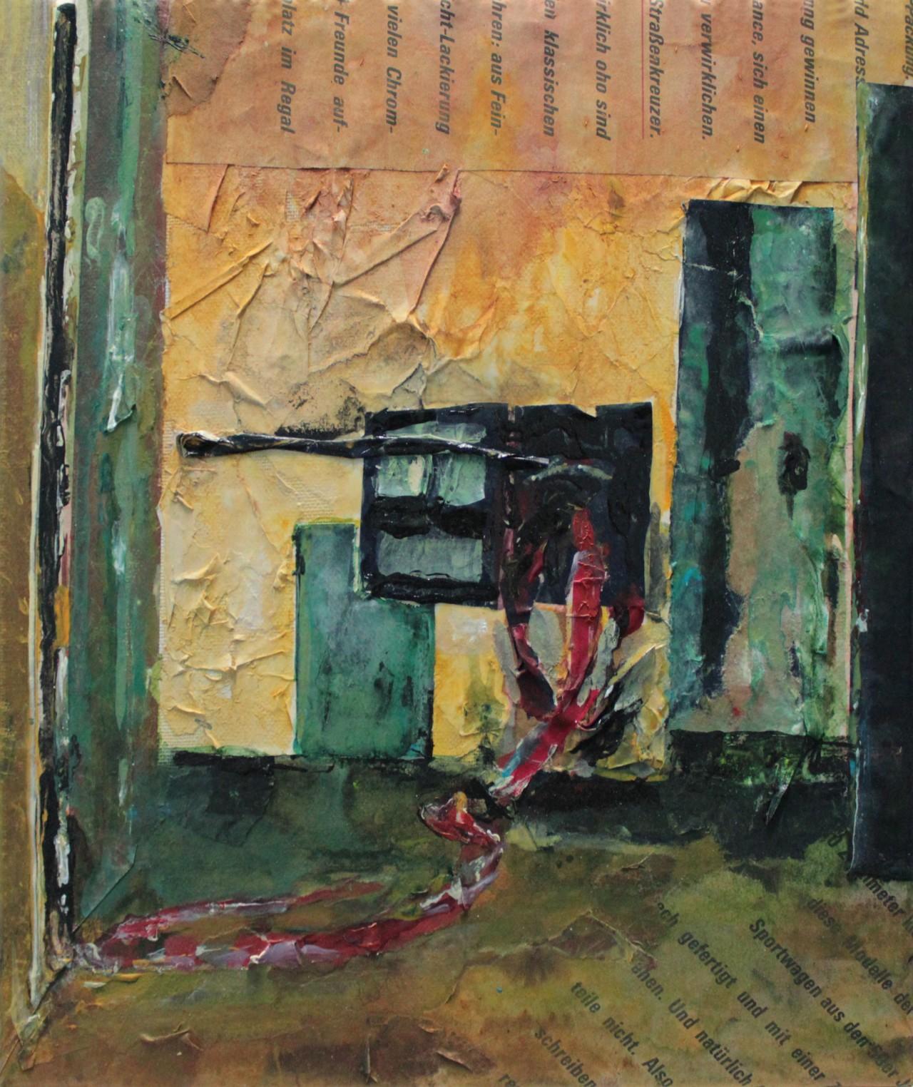 Entartete Zimmer 3 - Cerezo Montilla - compar cuadros modernos, comprar cuadros, cuadros modernos