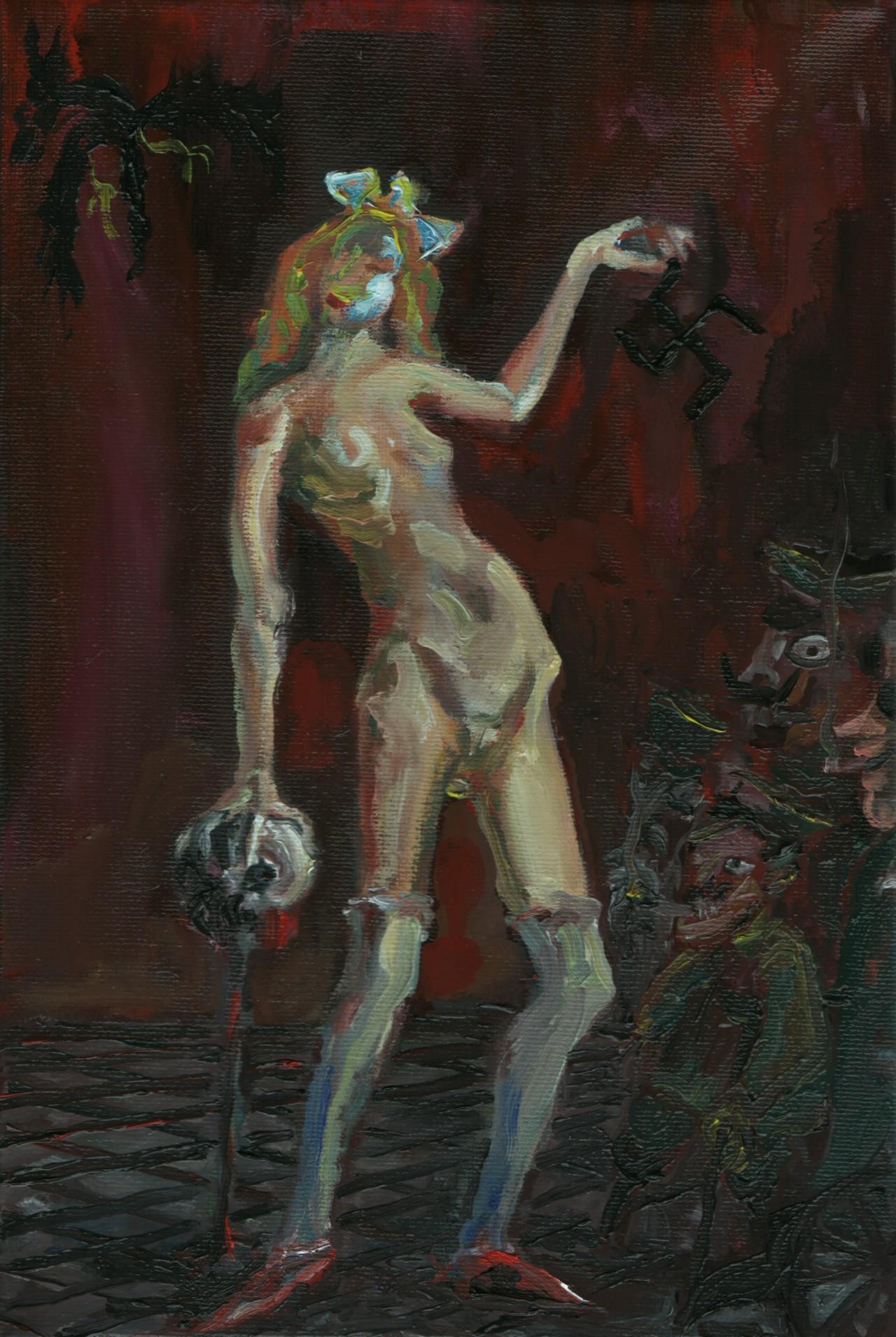 Degenerate Dixtortion 7 - Cerezo Montilla - compar cuadros modernos, comprar cuadros, cuadros modernos