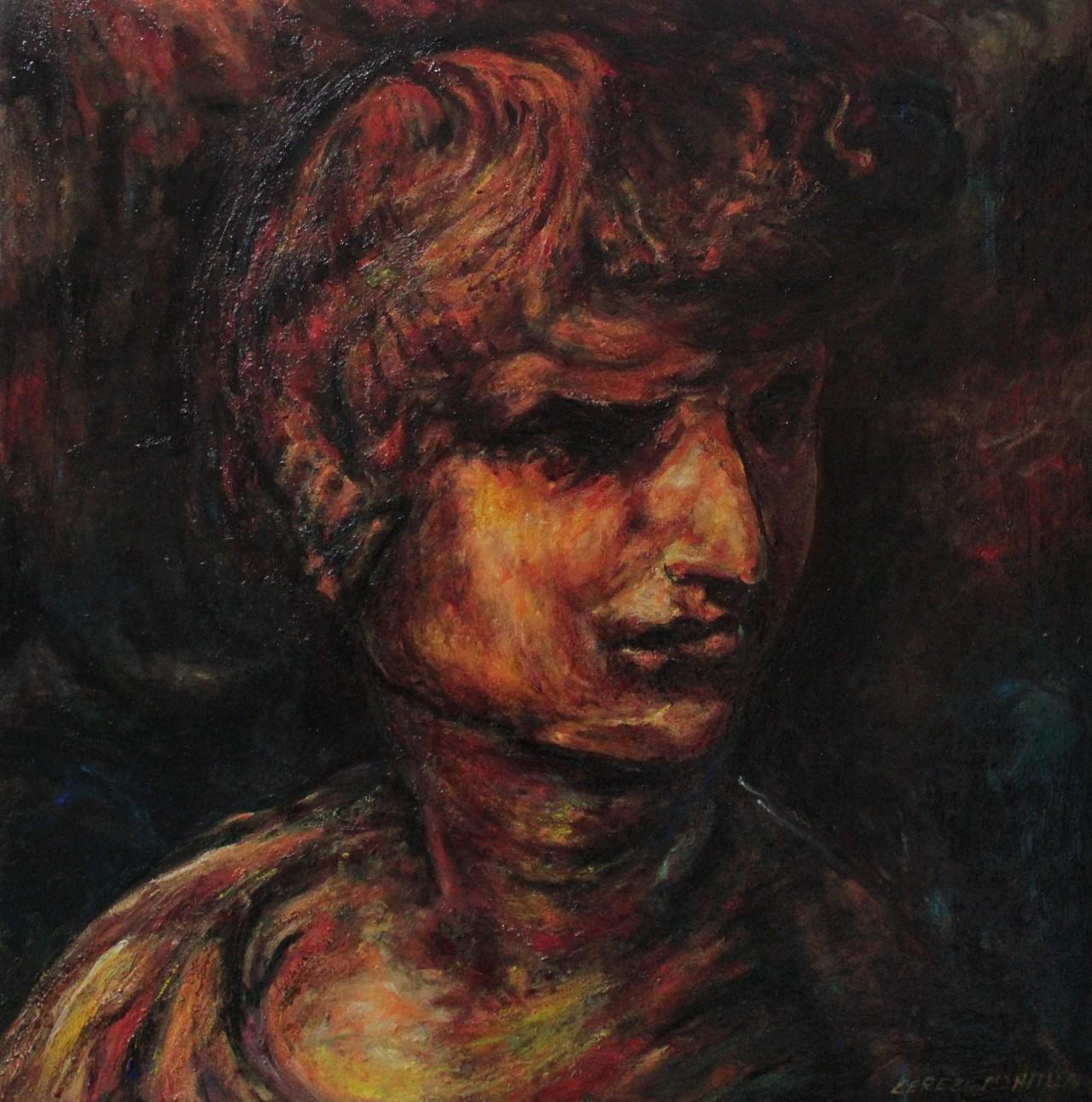 Leo Aureus Flames - Cerezo Montilla - compar cuadros modernos, comprar cuadros, cuadros modernos