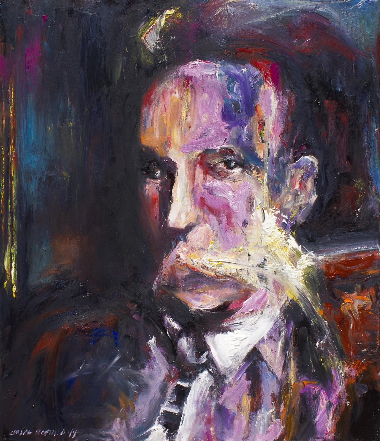 Ein Mann Porträt - Cerezo Montilla -