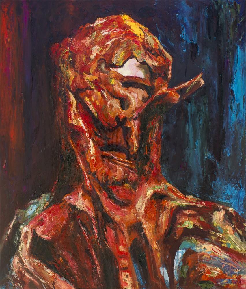 Self-portrait post-derision - Cerezo Montilla -