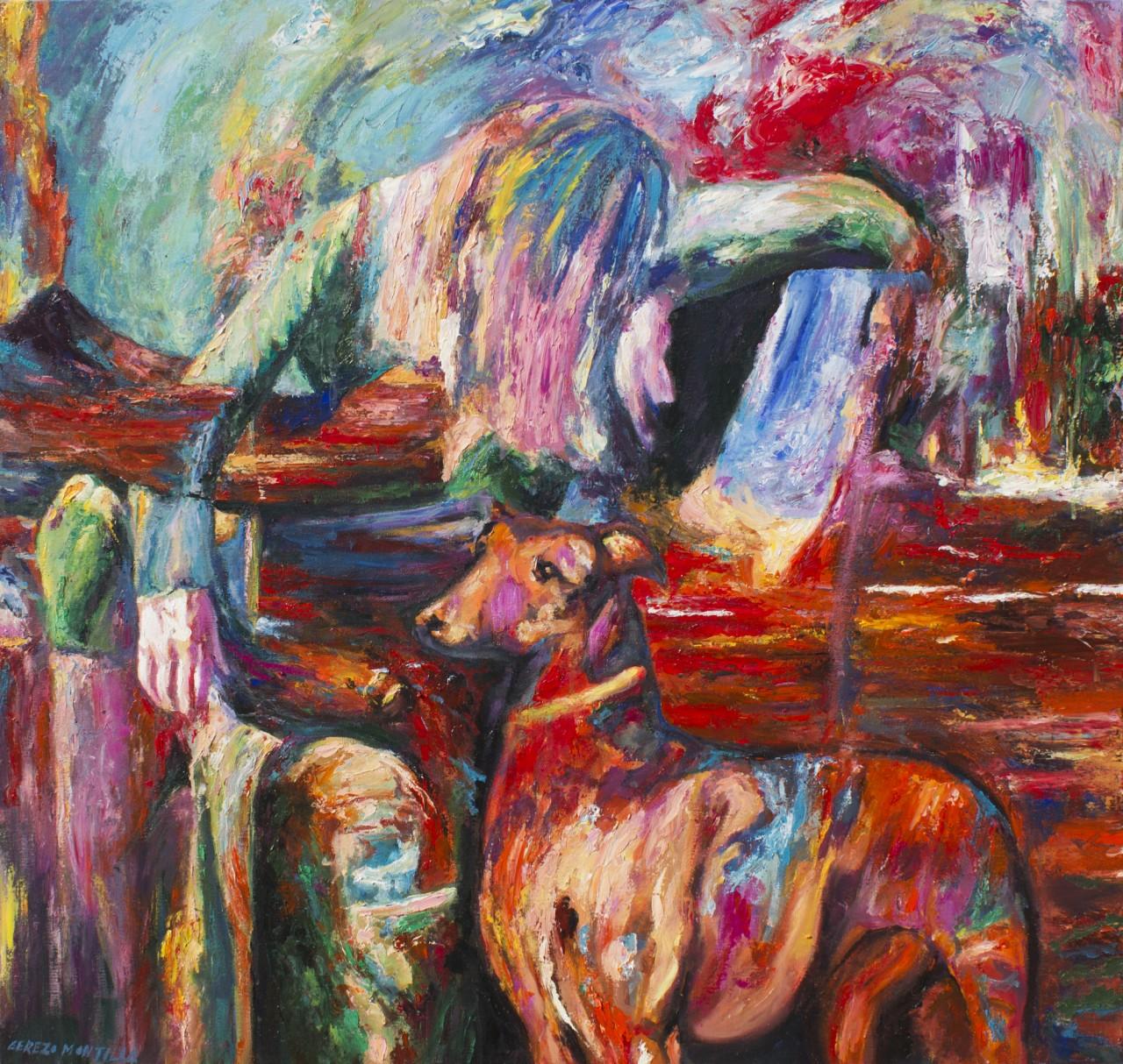 Vanitas - Cerezo Montilla - compar cuadros modernos, comprar cuadros, cuadros modernos