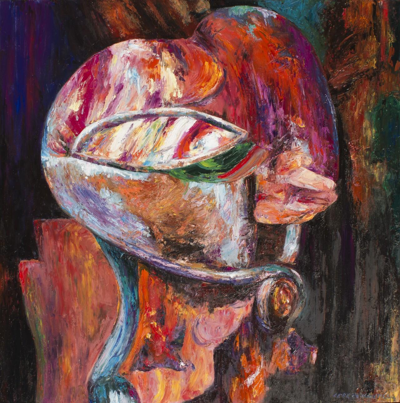 El cazador - Cerezo Montilla - compar cuadros modernos, comprar cuadros, cuadros modernos