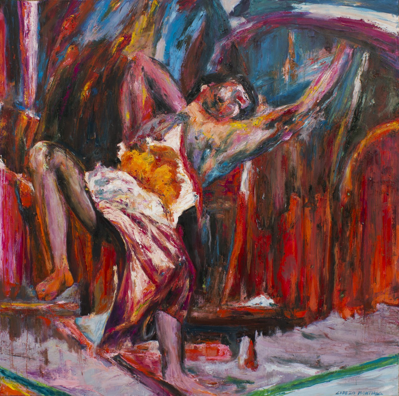 Bestiario - Cerezo Montilla - compar cuadros modernos, comprar cuadros, cuadros modernos